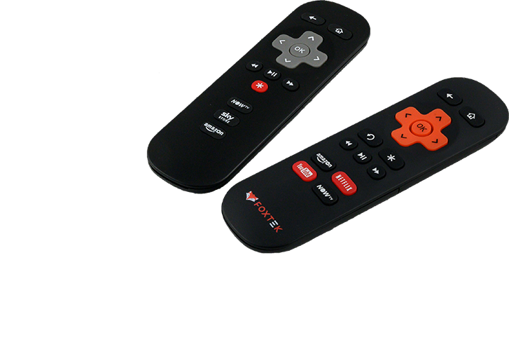 Roku / NOW TV Remotes